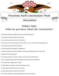 Constitution Week 2-1