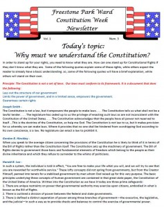Constitution Week 3-1