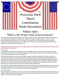 Constitution Week 4-1